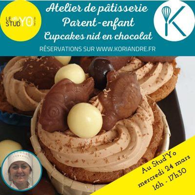 Atelier cupcakes pâques